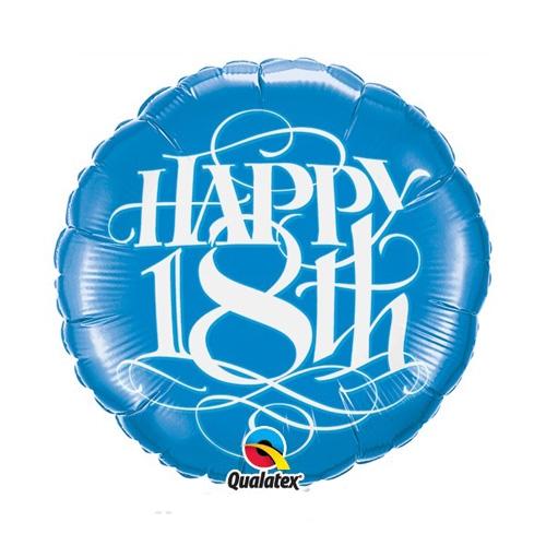 Happy 18th Birthday Foil Balloon