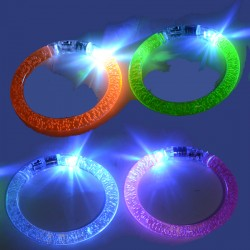 buy 19g ASSORTED L.E.D PLASTIC BANGLE WEIGHT
