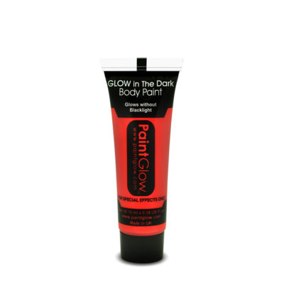 buy Glow In The Dark Body Paint - Red