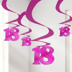 buy 18 Swirl Hanging Decoration