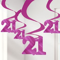 buy 21 Swirl Hanging Decoration