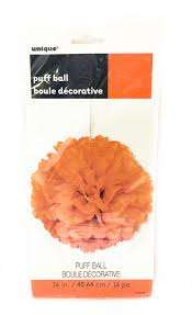 buy Orange Puff Ball