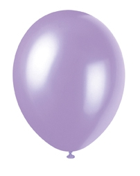 "buy Lovely Lavender Pearlized Latex Balloons - 12""/30cm 50pk"