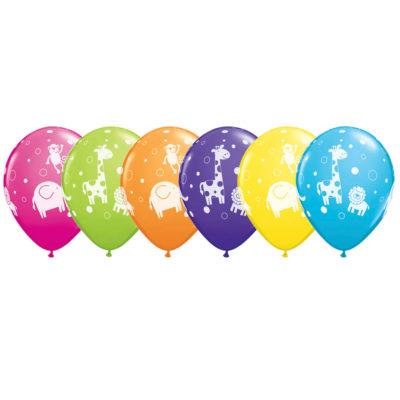 buy Qualatex Animals Balloons 6 PK