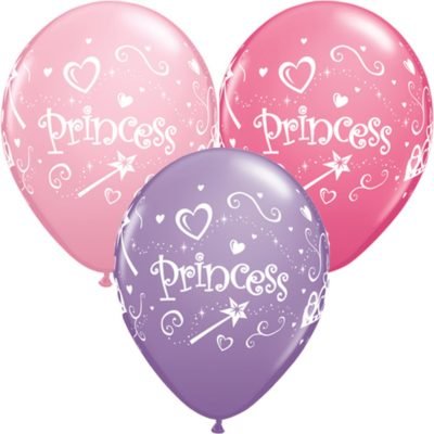 buy Qualatex Princess Balloons 6 PK