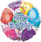 18 Inch Happy Birthday Balloons Foil