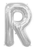 buy 34 Inch Silver R Foil Balloon