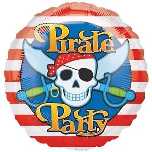 buy Pirate Party Foil Balloon