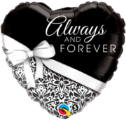 buy always and forever foil balloon