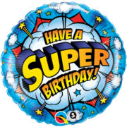 buy Have A Super Birthday Foil Balloon