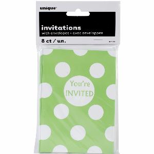 buy 8 invitation green you're invitied