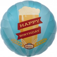 buy Happy Birthday Brew 18in/45cm