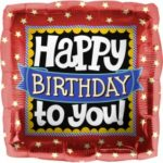 buy Happy Birthday to You Square Foil 18in/45cm