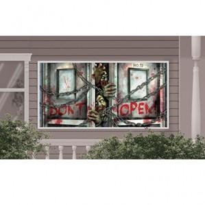 buy Halloween Zombie Wall Banner