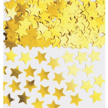 buy Golden Stars Confetti