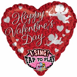 buy CUPID CRAZY LOVE VALENTINE JUMBO SING A TUNE