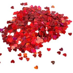 buy Red Mini Hearts Metallic