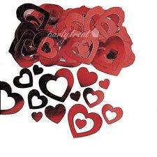 buy red heart confetti