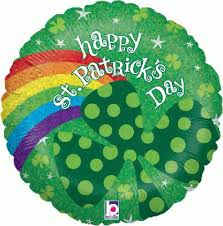 buy Happy St. Patrick's Day! Rainbow Foil Balloon