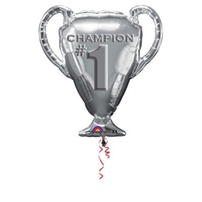 buy #1 Champion Trophy Foil Balloon