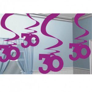 buy 30 Swirl Hanging Decoration
