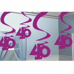 buy 40 Swirl Hanging Decoration