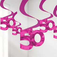 buy 50 Swirl Hanging Decoration