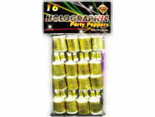 buy Golden Party Poppers