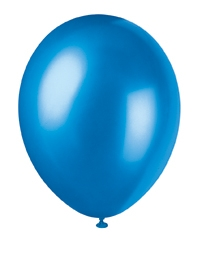 "buy Cosmic Blue Pearlized Latex Balloons - 12""/30cm 50pk"