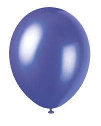 "buy Electric Purple Pearlized Latex Balloons - 12""/30cm 50pk"