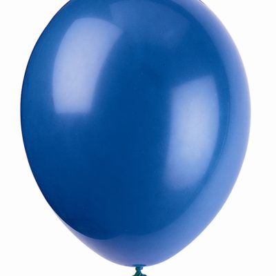 buy Evening Blue Latex Balloons - 12'' / 30 cm 50pk
