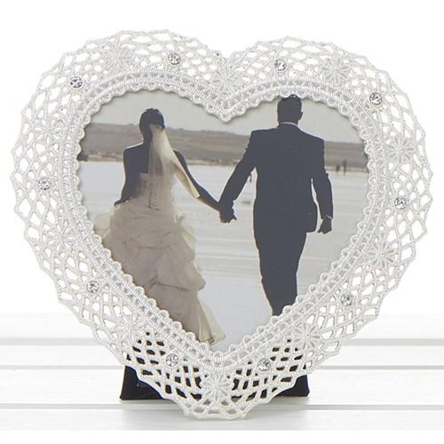buy Heart Shaped Wedding Frame