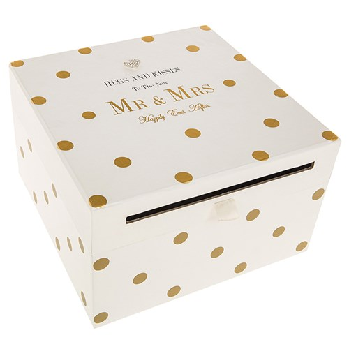 buy Mr & Mrs Card Collection Box
