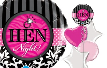HEN NIGHT / WEDDING BALLOON BOUQUETS