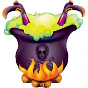 Halloween Cauldron Super shape Balloon | Buy Helium Balloons ...