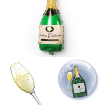 buy Elegant Champagne Balloon Bouquet