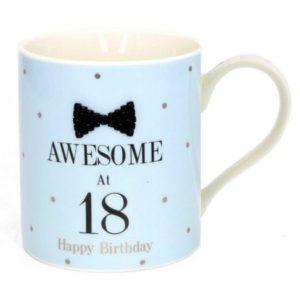 buy Awesome at 18 Fine China Mug
