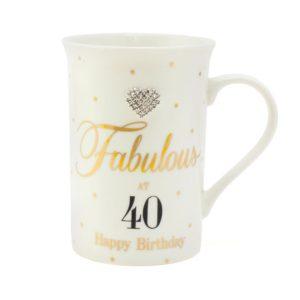 buy Mad Dots 40th Birthday Mug