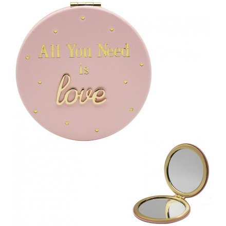 buy All You Need Is Love Compact Mirror