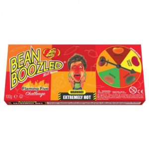 buy Jelly Belly Beanboozled Flaming Five Spinner Gift Box 100g