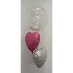 Entwined Hearts Feather Bouquet