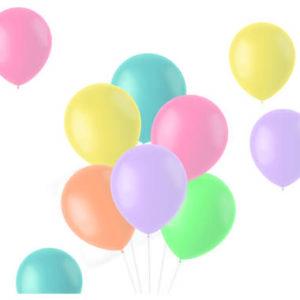Balloons Powder Pastels 33cm - 10 pieces