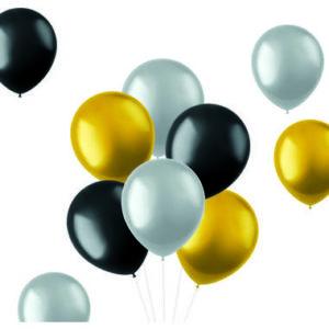 Balloons Rich Metallics 33cm - 10 pieces