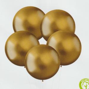 XL Intense Gold Latex 48cm x5