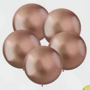 XL Intense Rose Gold Latex 48cm