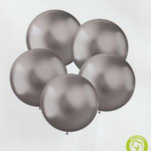 XL Intense Silver Latex 48cm x5